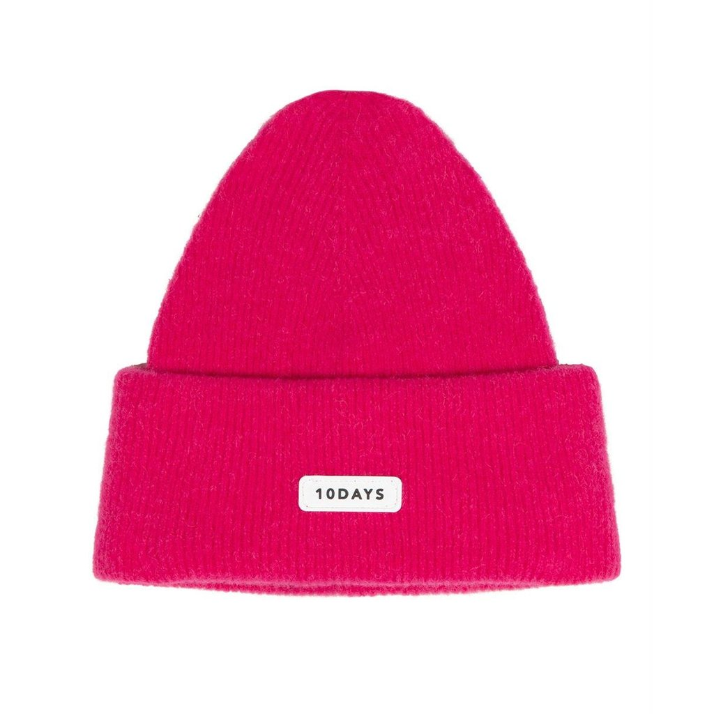 10Days Pink knitted beanie 20-696-0204