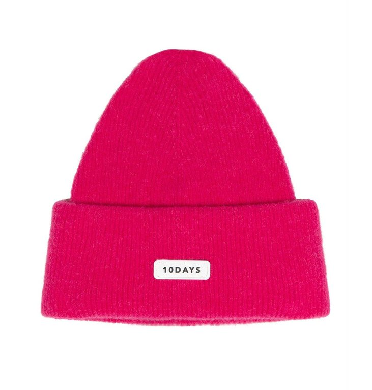10Days 10Days Pink knitted beanie 20-696-0204