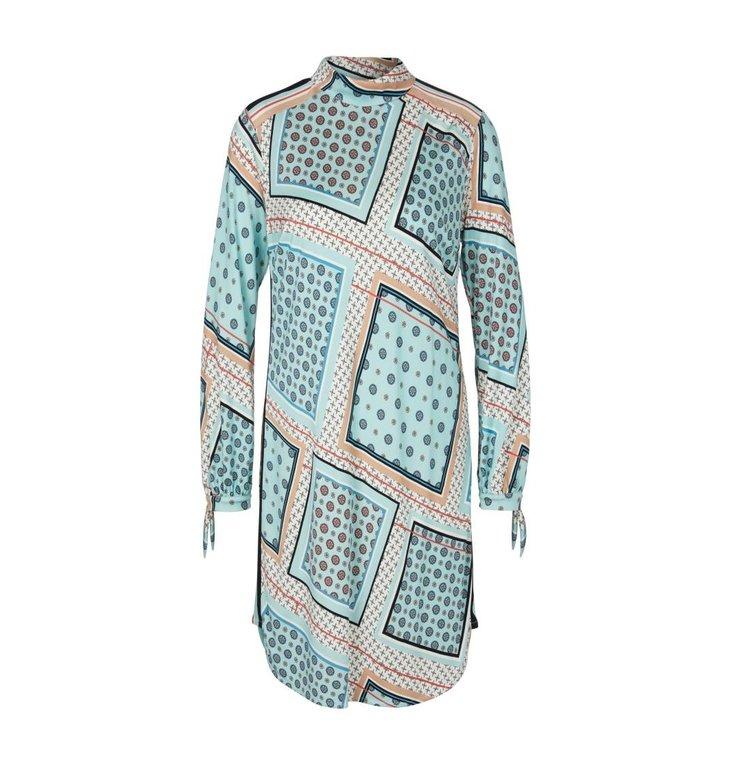 Marc Cain Marc Cain Blue/MultiColour Dress PC2150-J37