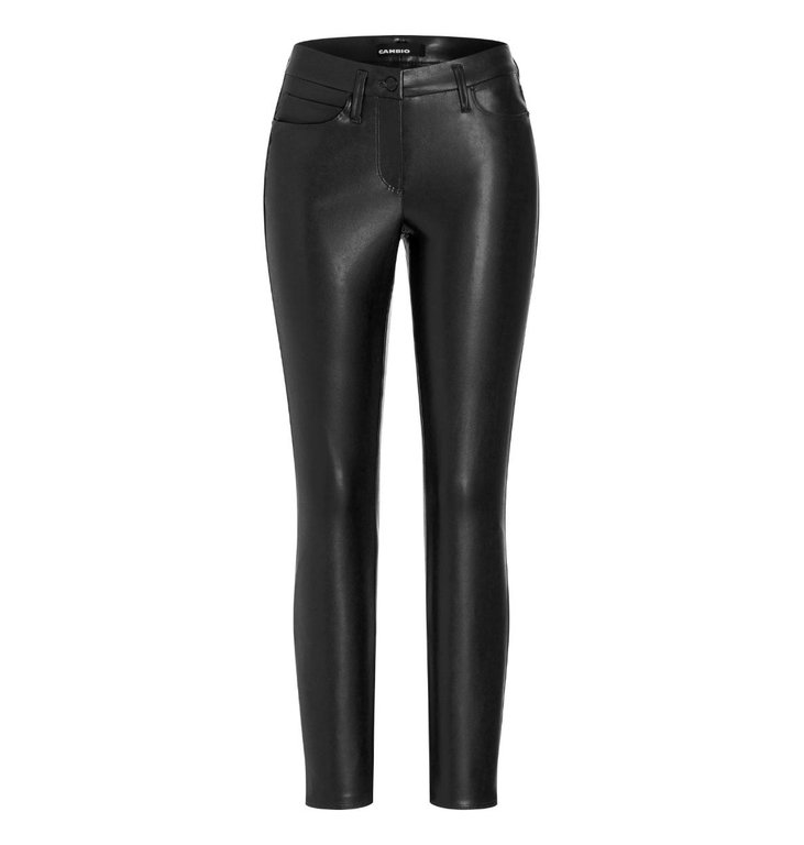 Cambio Cambio Black Ray Faux Leather Pants 6301-0268-01