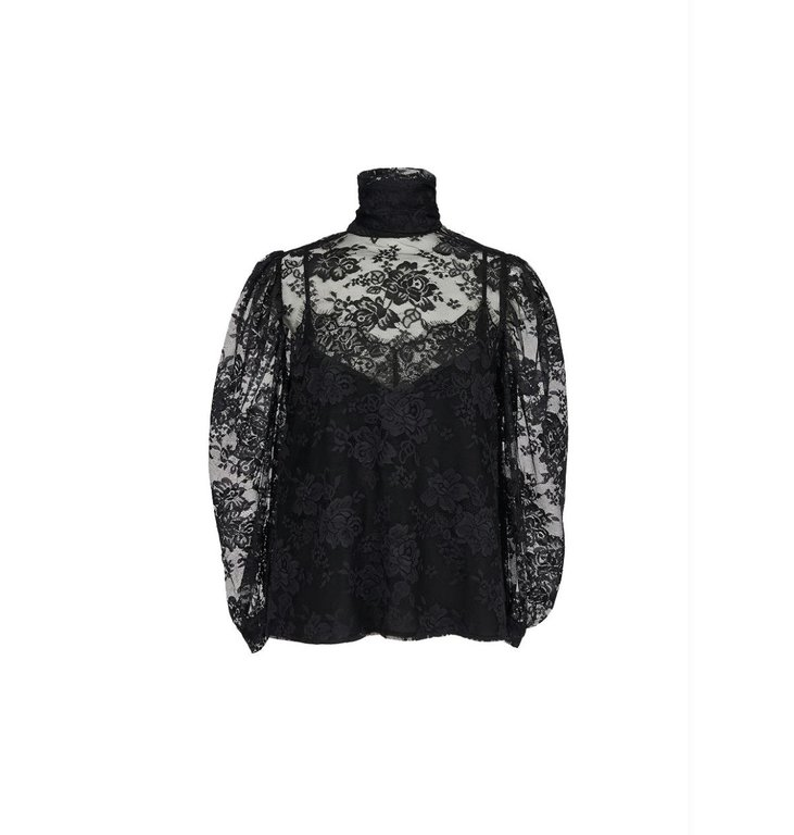 Essentiel Antwerp Essentiel Antwerp Black Blouse Zockey