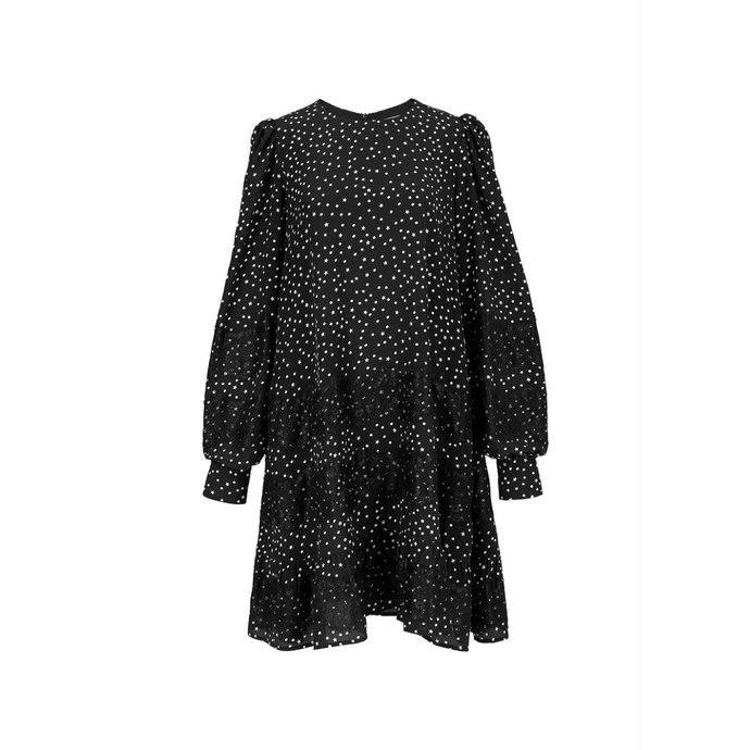 Essentiel Antwerp Black/White Dress Zalza