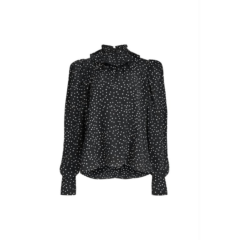 Essentiel Antwerp Essentiel Antwerp Black/White Blouse Zeyboard