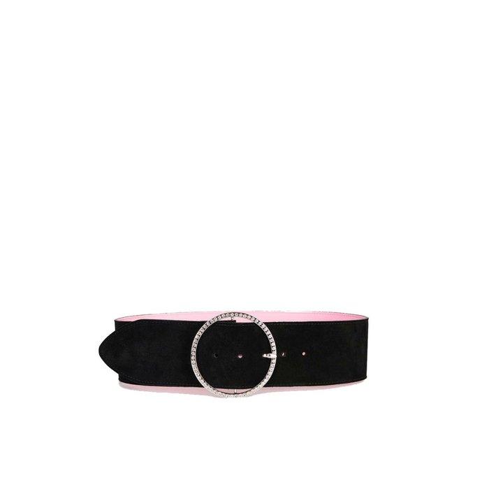 Essentiel Antwerp Black/Pink Belt Zhiterock