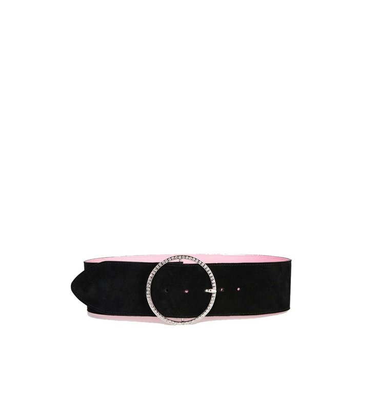 Essentiel Antwerp Essentiel Antwerp Black/Pink Belt Zhiterock