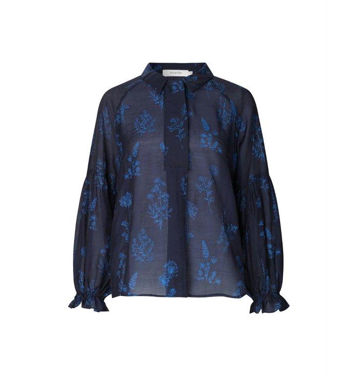 Munthe Munthe Blue Sodo Blouse 1043-20433