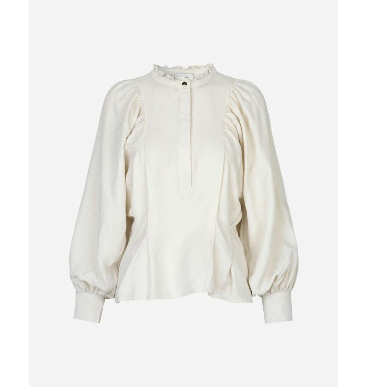 Munthe Munthe Off White Slow Blouse 1000-20409