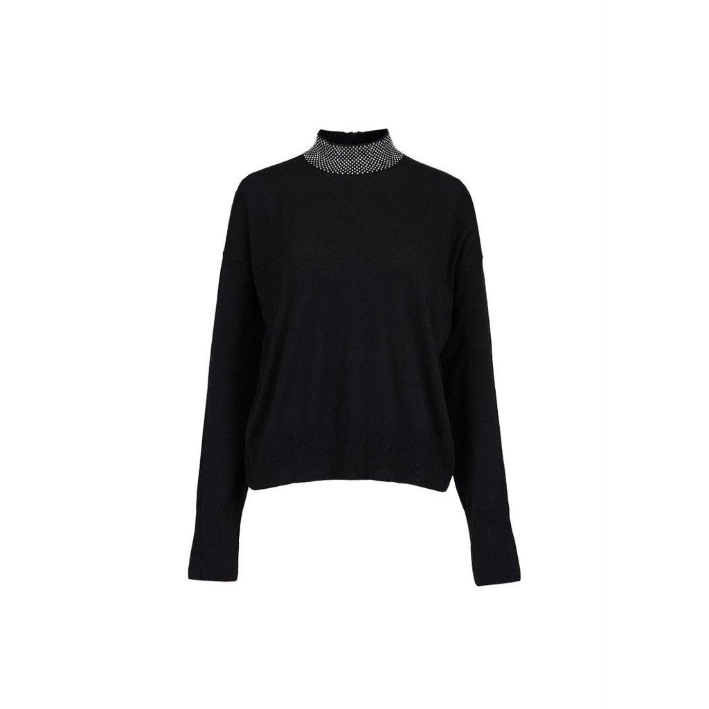 Essentiel Antwerp Black Knit Zahir