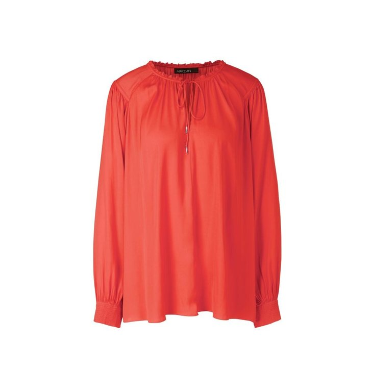 Marc Cain Marc Cain Red Blouse QC5110-W19
