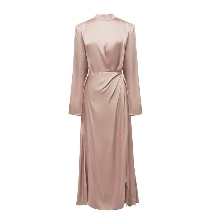 Anine Bing Anine Bing Old Pink Kim Dress #A-02-1150-270
