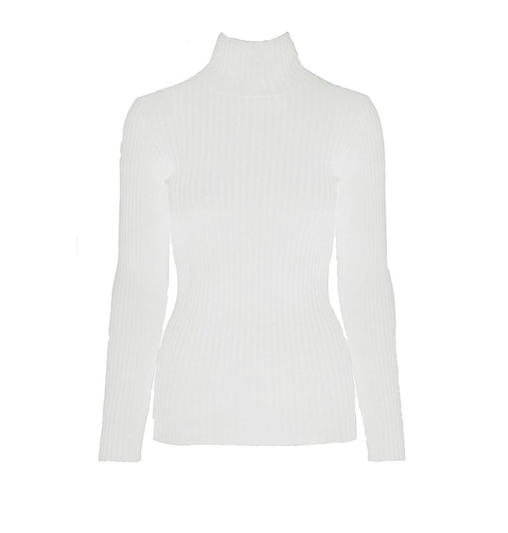 Anine Bing Anine Bing Off White Clare Top #A-08-4159-150