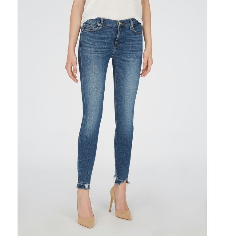 7 For All Mankind 7 For All Mankind Denim Blue Skinny Cropped JSVU1200
