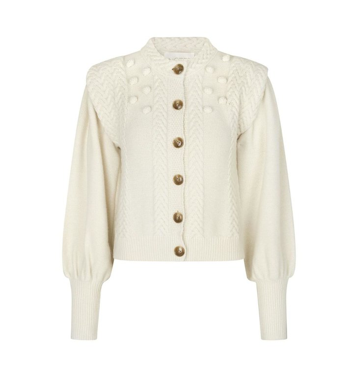 Notes du Nord Notes du Nord Off White Sonya Cardigan 12071