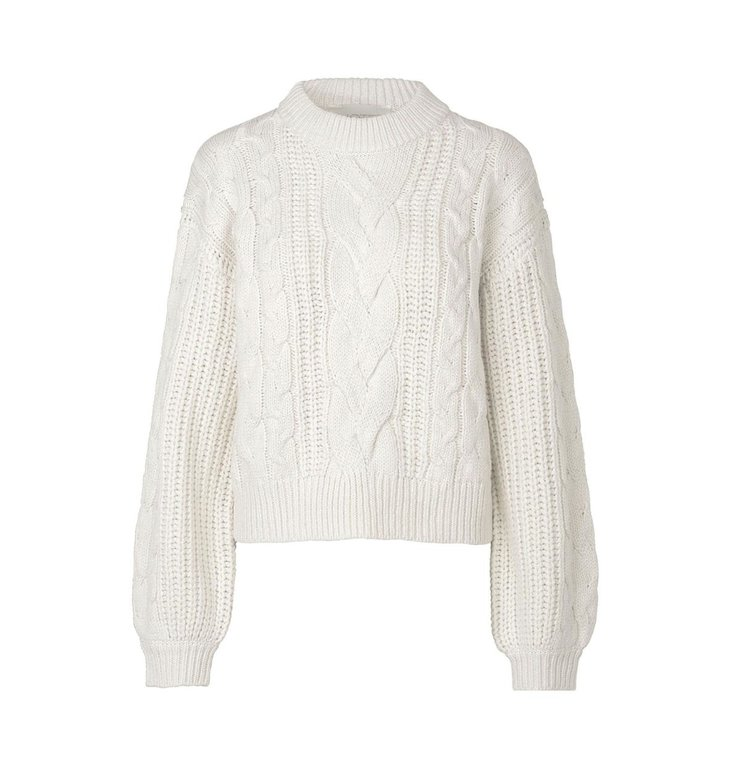Notes du Nord Notes du Nord Off White Star Blouse 12088