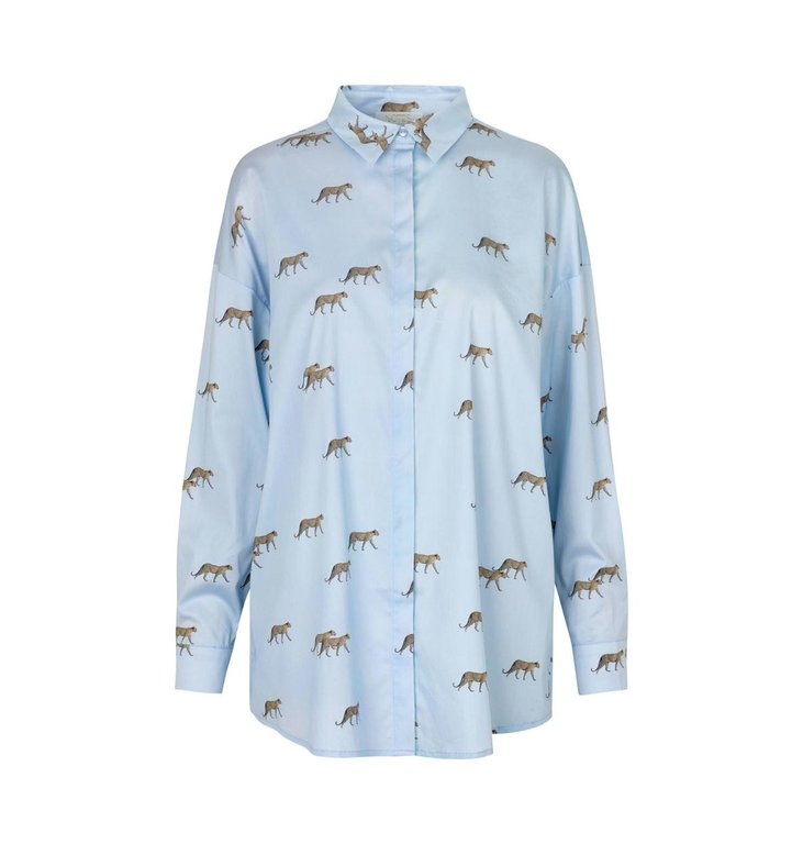 Notes du Nord Notes du Nord Sky Blue Kira Shirt 12058