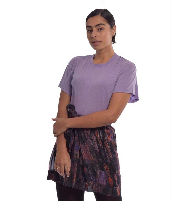 IRO IRO Purple T-shirt Pozo