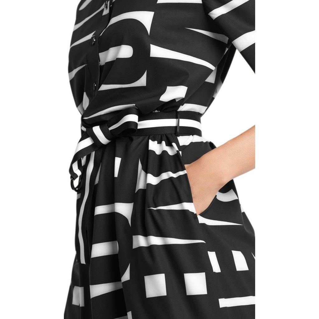 Marc Cain Black Dress QS2109-W28