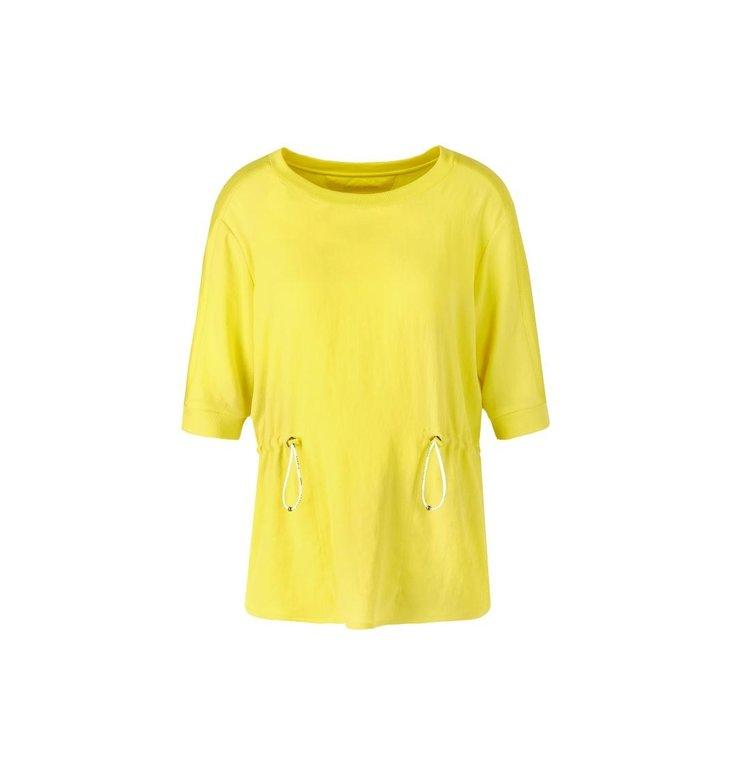 Marc Cain Marc Cain Yellow T-shirt QS5504-J67