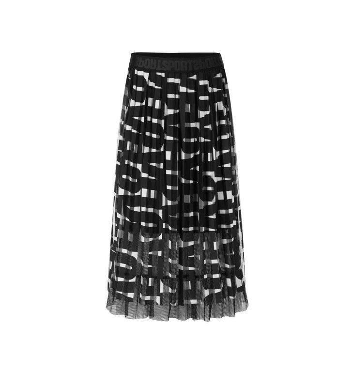 Marc Cain Marc Cain Black Skirt QS7139-J54