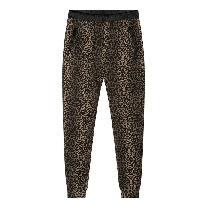 10Days Taupe jogger leopard camo 20-004-1201