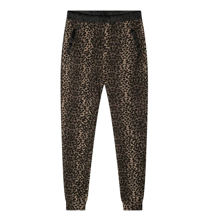 10Days 10Days Taupe jogger leopard camo 20-004-1201