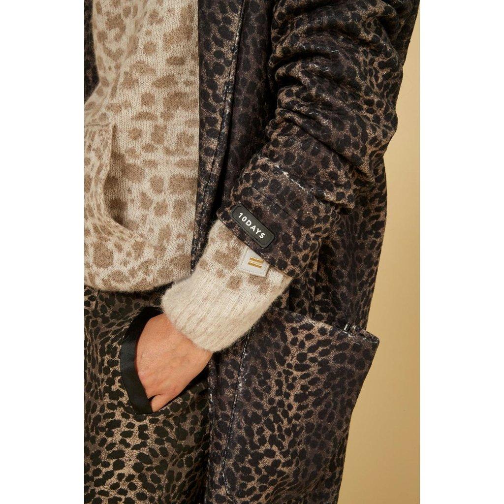 10Days Taupe jogger leopard camo 20-004-1201