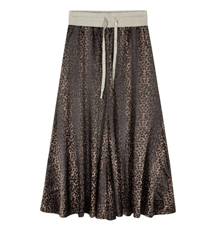 10Days 10Days Taupe skirt leopard camo 20-104-1201