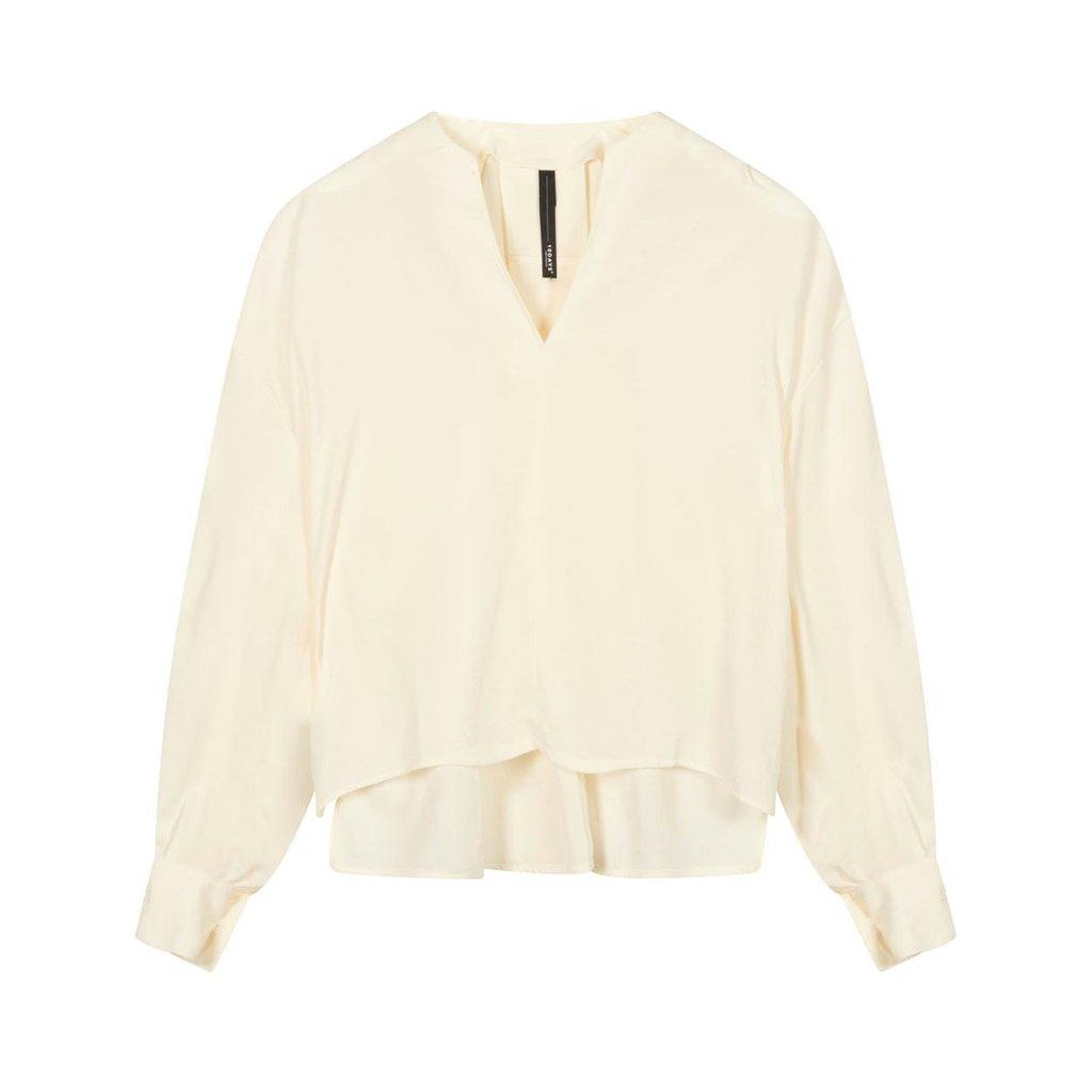 10Days Ecru blouse flowy 20-403-1201