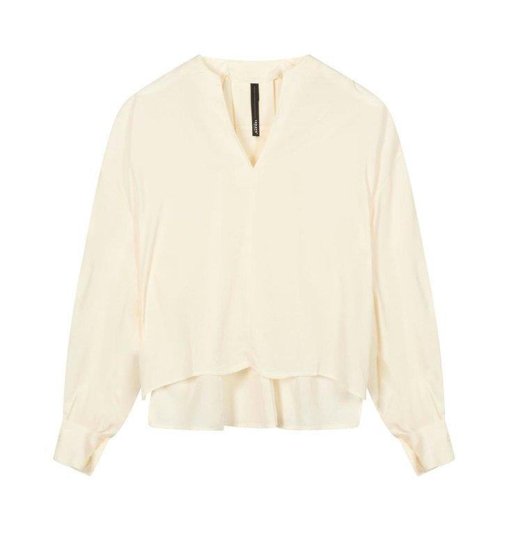 10Days 10Days Ecru blouse flowy 20-403-1201