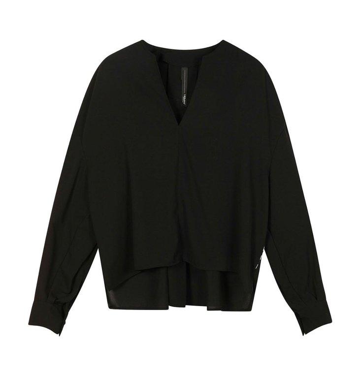 10Days 10Days Black blouse flowy 20-403-1201