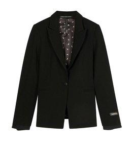 10Days 10Days Black blazer stretch crepe 20-500-1201