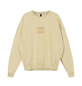 10Days 10Days Dirty Yellow oversized sweater washed 20-800-1201