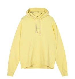 10Days 10Days Yellow oversized hoodie logo 20-803-1201
