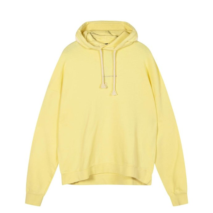 10Days Yellow oversized hoodie logo 20-803-1201