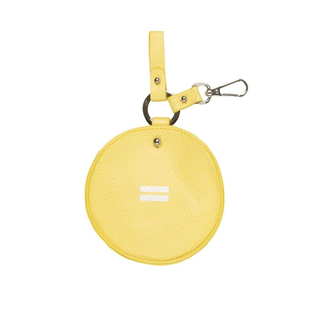 10Days Yellow keychain bag uni 20-962-1201