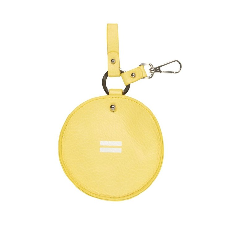 10Days 10Days Yellow keychain bag uni 20-962-1201