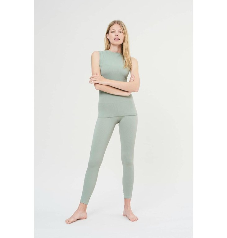 Lune Active Lune Active Mint Green Bamboo Top LA1023
