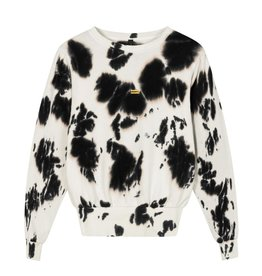 10Days 10Days Ecru butterfly sweater tie dye 20-802-1201
