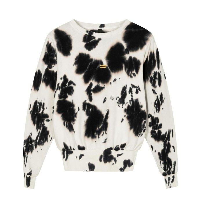 10Days Ecru butterfly sweater tie dye 20-802-1201