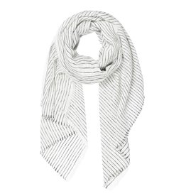 10Days 10Days White scarf stripes 20-908-1201