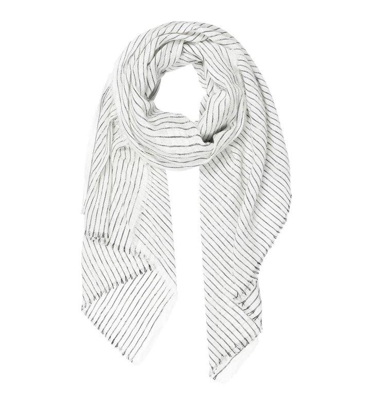 10Days 10Days White scarf stripes 20-908-1201