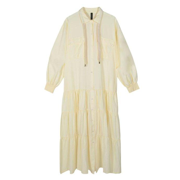 10Days Vanille maxi shirt dress 20-334-1201