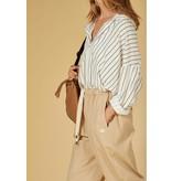 10Days White blouse pinstripe 20-401-1201
