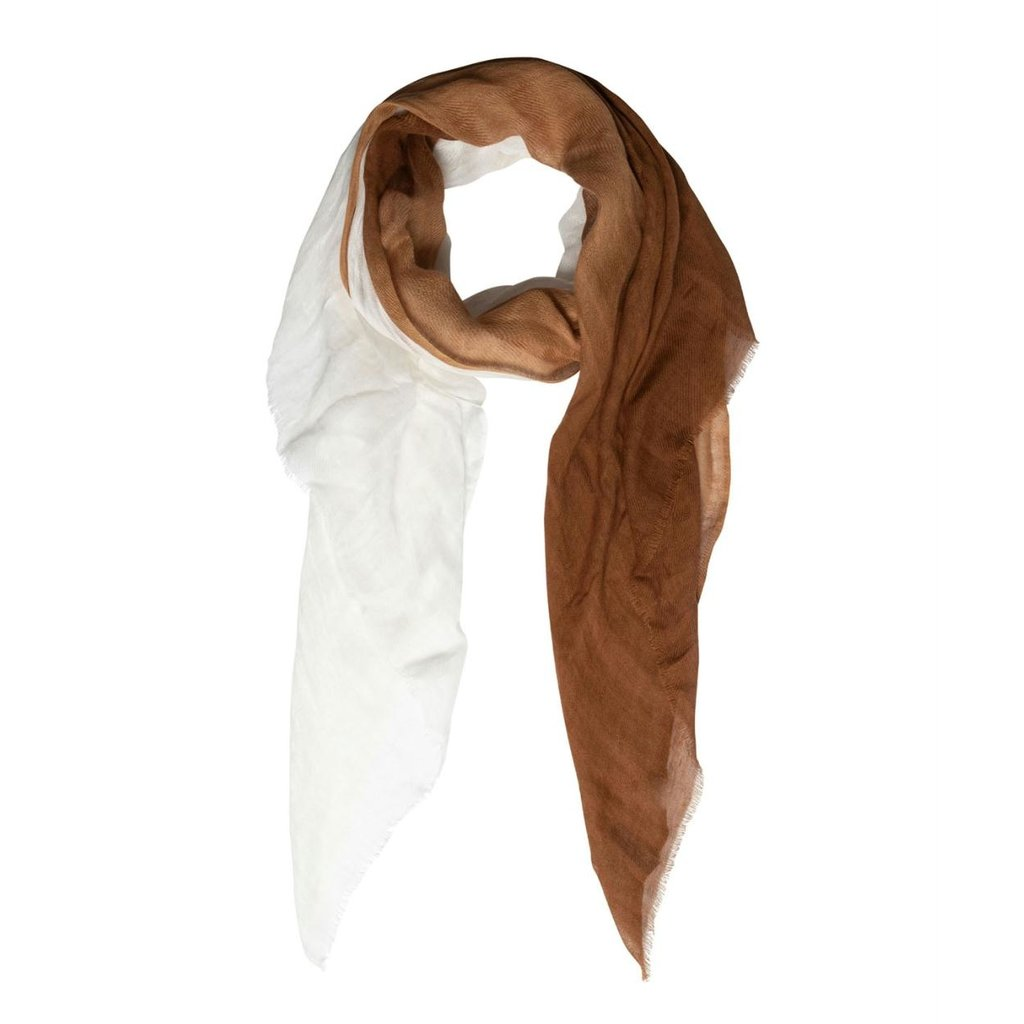 10Days Caramel scarf stripe 20-913-1201