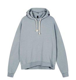 10Days 10Days Grey Blue oversized hoodie logo 20-803-1201