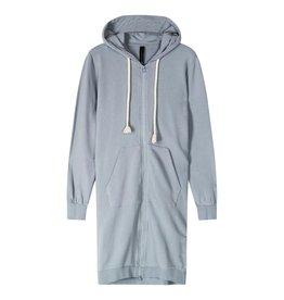 10Days 10Days Grey Blue long hoodie cardigan 20-853-1201