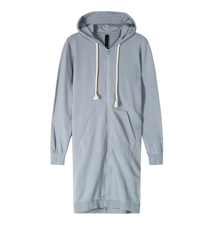 10Days 10Days Grey Blue long hoodie cardigan 20-853-1201
