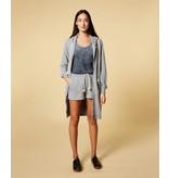 10Days Grey Blue long hoodie cardigan 20-853-1201