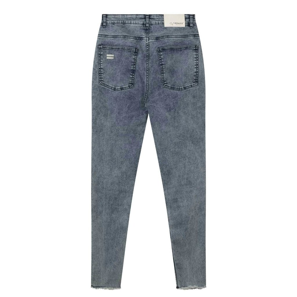 10Days Blue skinny denim washed 20-060-1201