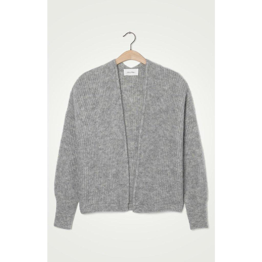 American Vintage Grey Cardigan East19a